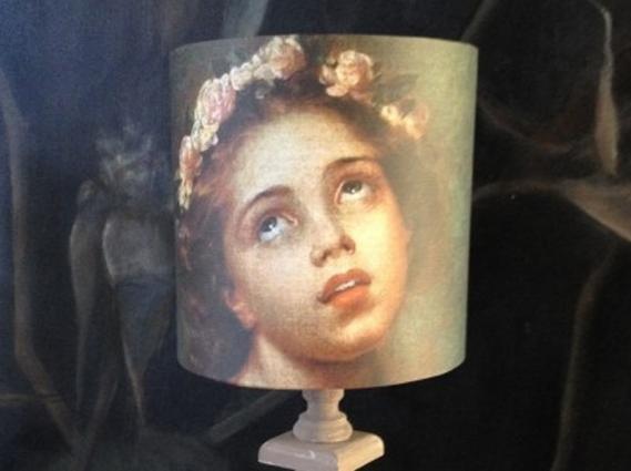 Abat jour portrait fillette par L.E. Vigée Lebrun