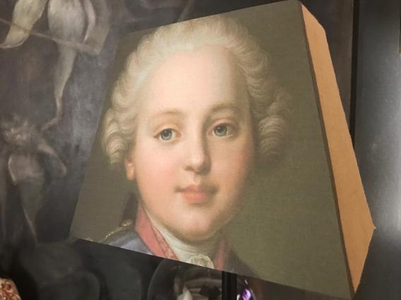 Abat jour pyramide rectangle Louis XVI