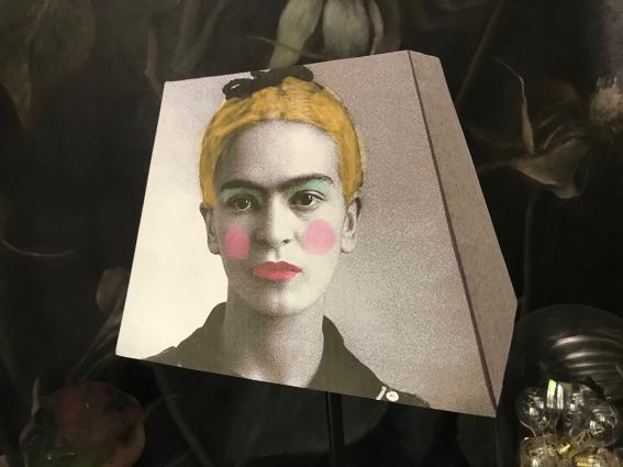 """Abat jour Frida Blonde """"I"""""""