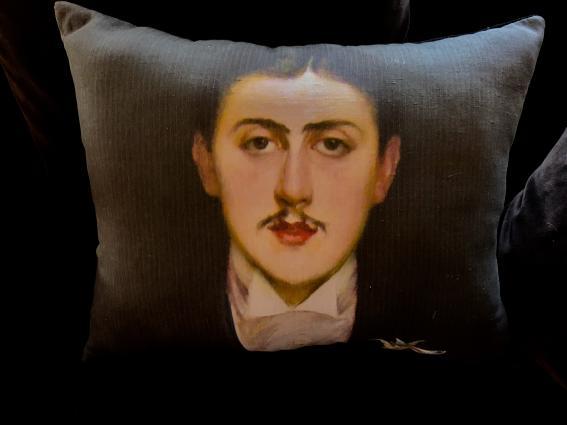 Coussin Marcel Proust