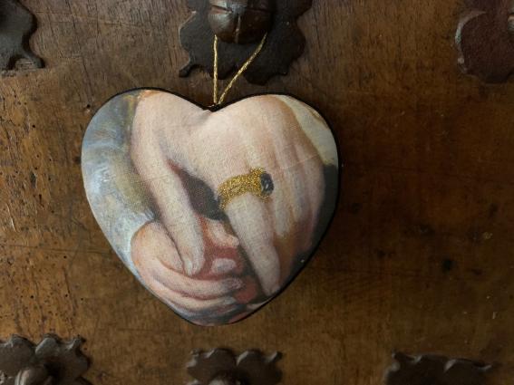 """Coeur précieux """"main enfant"""""""