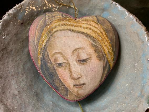 Coeur précieux, Madone de Carlo Crivelli