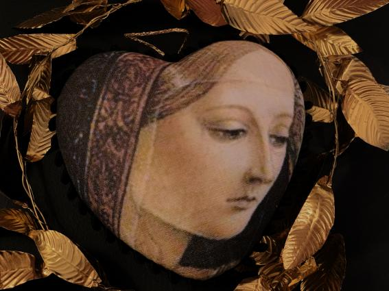 Coeur précieux Madone de Carlo Crivelli - II -