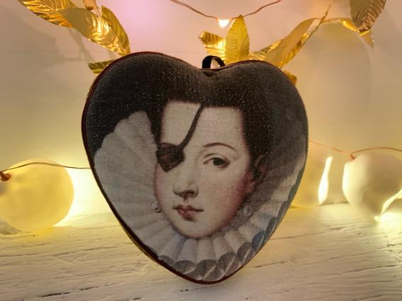 Coeur précieux Ana de Mendoza de la Cerda