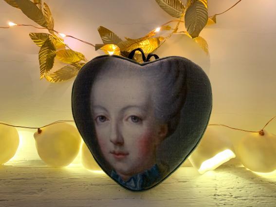 Coeur précieux Marie Antoinette