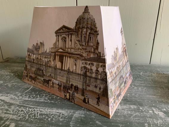 """Abat jour gravure """"palais de justice de Paris"""""""