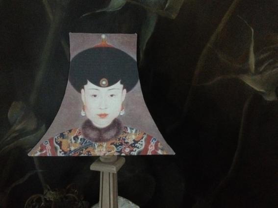 Abat jour pagode concubine Ming